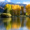 Autumn Reflections in the Animas Valley photograph