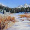 Winter Palette pastel painting