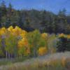 Autumn at Cherry Gulch Pastel painting
