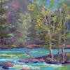 Along the banks of the Animas pastel