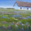 Cottage, County Clare pastel painting